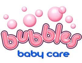 #188 para Logo Design for brand name 'Bubbles Baby Care' por richhwalsh