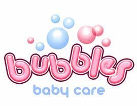 #231 para Logo Design for brand name 'Bubbles Baby Care' por richhwalsh