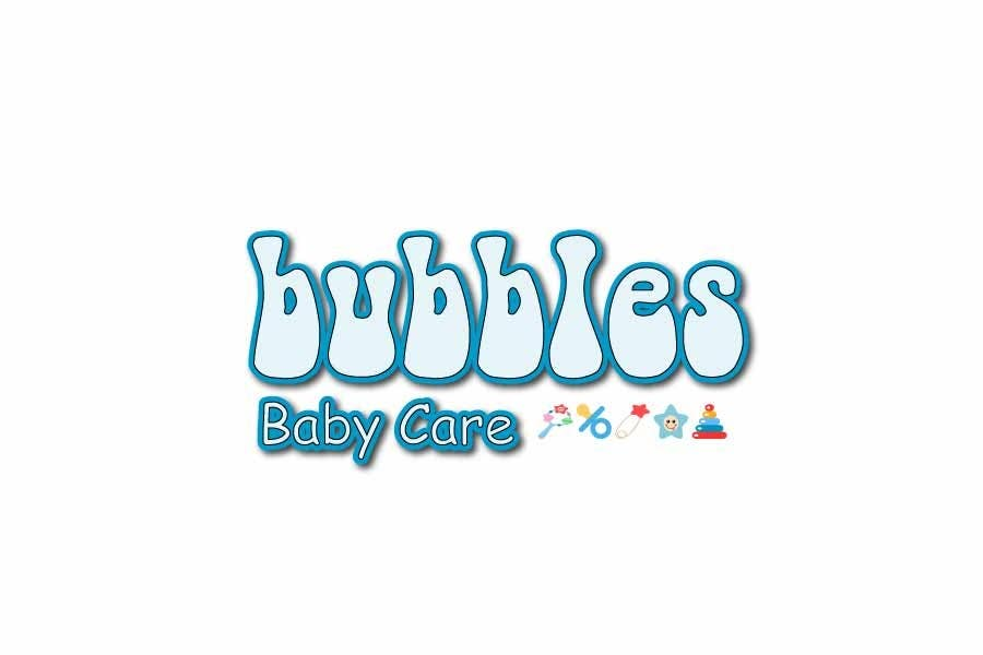 Kilpailutyö #455 kilpailussa Logo Design for brand name 'Bubbles Baby Care'
