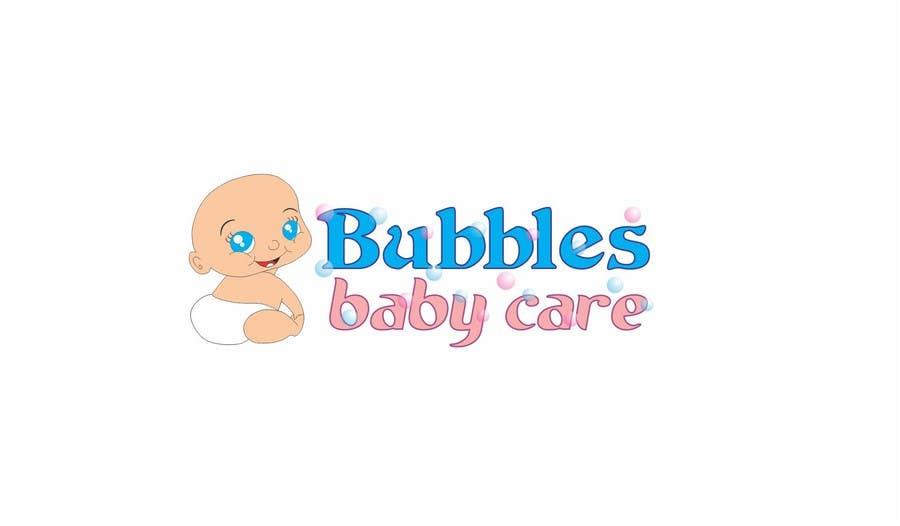 Kilpailutyö #335 kilpailussa Logo Design for brand name 'Bubbles Baby Care'