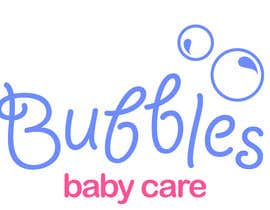 #42 para Logo Design for brand name 'Bubbles Baby Care' por itsydesigns