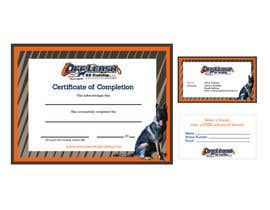 gracielanne tarafından Design a Certificate of Completion, Business Card için no 15