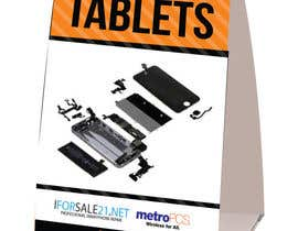 #8 untuk Design a Tabletop tent for marketing in the mall food court tables. oleh ICONICSQUARED