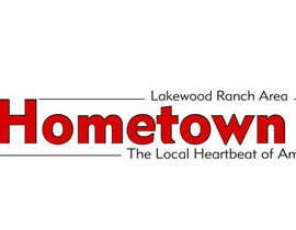 #48 for Icon and Magazine Name design for new company, Hometown News af PamelaStecyk