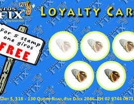 #11 untuk Design a loyalty card oleh Paperblu