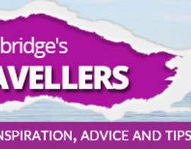 SJADDesigns tarafından Design a Banner for Tips For Travellers website için no 145