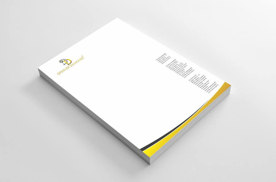 #8 for Design some Stationery for a Jewelery Company (Letterhead/Envelope/Business Card) by ezesol