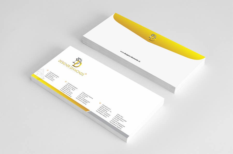 #12 for Design some Stationery for a Jewelery Company (Letterhead/Envelope/Business Card) by ezesol