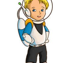 #13 untuk Create a space commander based on a real kid (4 years old boy) oleh Pcat007