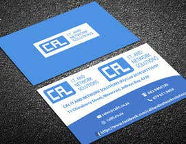 #8 untuk Business card design – logo and info supplied oleh lipiakhatun586