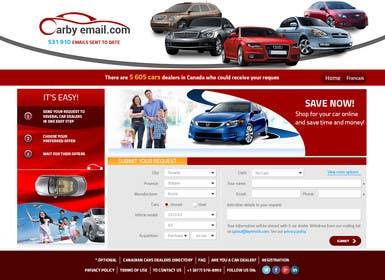 ankisethiya tarafından Design a Website Mockup fo rhttp://carbyemail.com/ için no 28