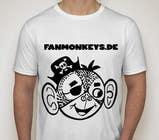 Design eines T-Shirts for fanmonkeys.de için Graphic Design56 No.lu Yarışma Girdisi