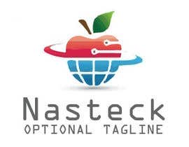 #14 untuk Design a Logo for Nasteck (Company that sells Apple products) oleh salahrhu