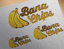 #33 untuk Logo for Banana Chips brand oleh cristinaa14