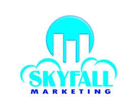 #31 untuk Logo for my new company SKYFALL MARKETING oleh pikoylee