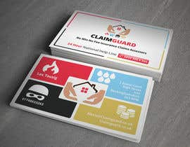 #28 untuk Design some Business Cards for Claimguard oleh toyz86