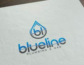 #172 for Design a Logo for Blueline Plumbing & Gas by FutureArtFactory