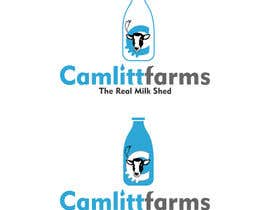 #28 for Design a Logo for Camlitt Farms - The Real Milk Shed by joelsonsax