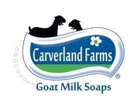 #9 untuk Design a Logo for Carverland Farms Goat Milk Soap oleh amjadawan1
