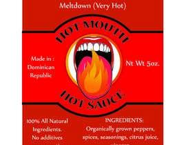 baroque90 tarafından Create a label design for hot sauce bottle için no 7