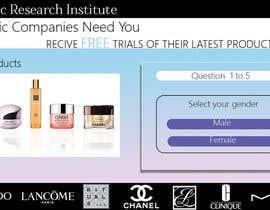 #31 untuk Design a Website Mockup for Cosmetic Research Institute oleh AshRyma