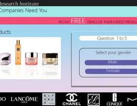 #49 untuk Design a Website Mockup for Cosmetic Research Institute oleh AshRyma