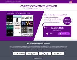 #13 untuk Design a Website Mockup for Cosmetic Research Institute oleh omwebdeveloper