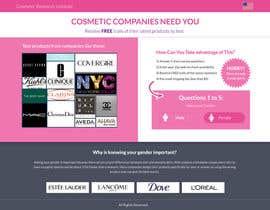 #25 untuk Design a Website Mockup for Cosmetic Research Institute oleh omwebdeveloper