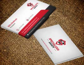 #88 untuk Design A Business Card for Specialized Safety oleh mdreyad