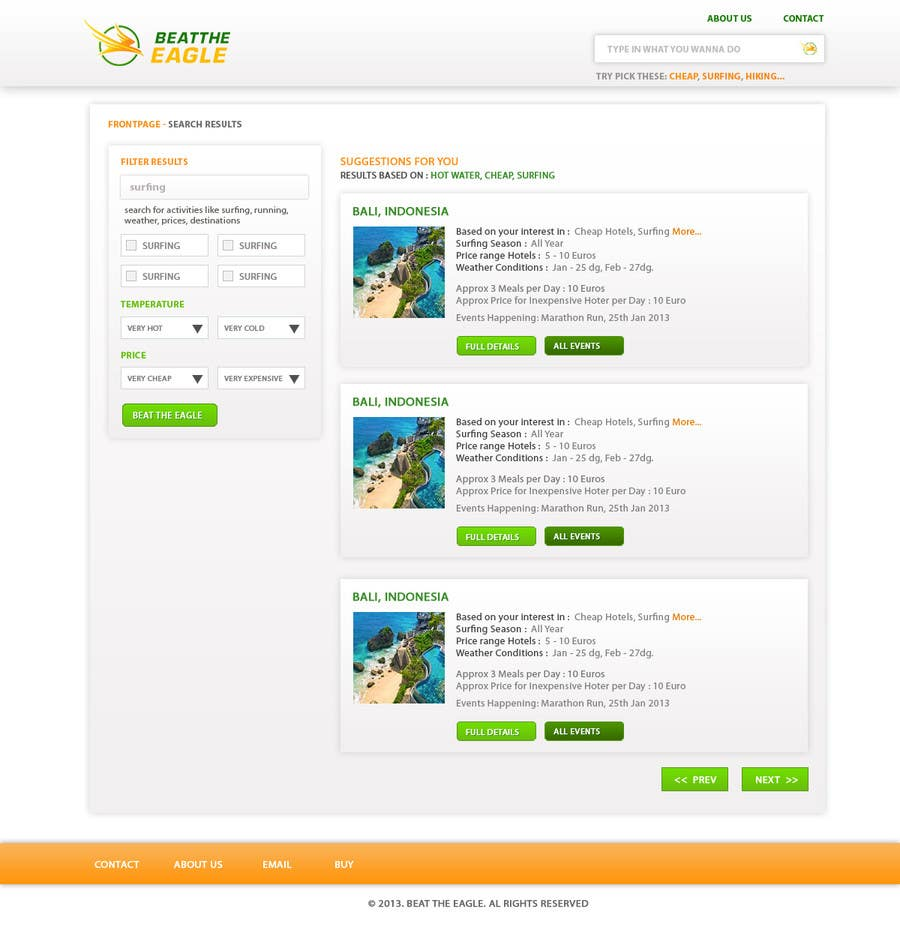 #7 for Change / create design for website by uttamcafedeweb