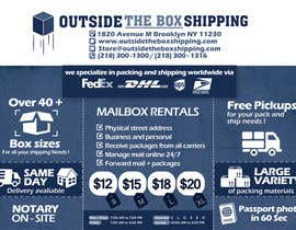 #19 for FLYER DESIGN: Shipping Store Services with Coupons by alromisa