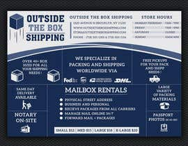 #25 for FLYER DESIGN: Shipping Store Services with Coupons by ashanurzaman