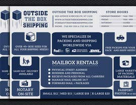 #28 for FLYER DESIGN: Shipping Store Services with Coupons by ashanurzaman