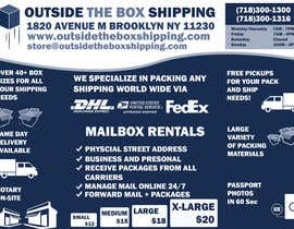 #23 for FLYER DESIGN: Shipping Store Services with Coupons by waqas17