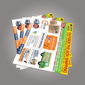 #41 untuk FLYER DESIGN: Shipping Store Services with Coupons oleh sameer6292
