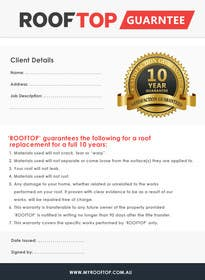 #9 untuk Design some Stationery for a Guarantee oleh RainMQ