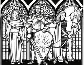 faveart tarafından Fantasy illustration: stained glass windows için no 13