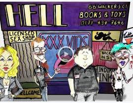 AndyZo tarafından Animate 4 pre-drawn characters against a background için no 7
