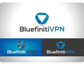 #158 for Design a Logo for BluefinitiVPN by texture605