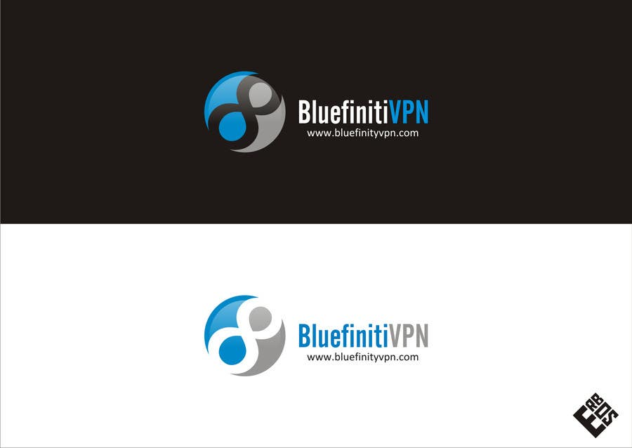 #104 for Design a Logo for BluefinitiVPN by nirvannafamily