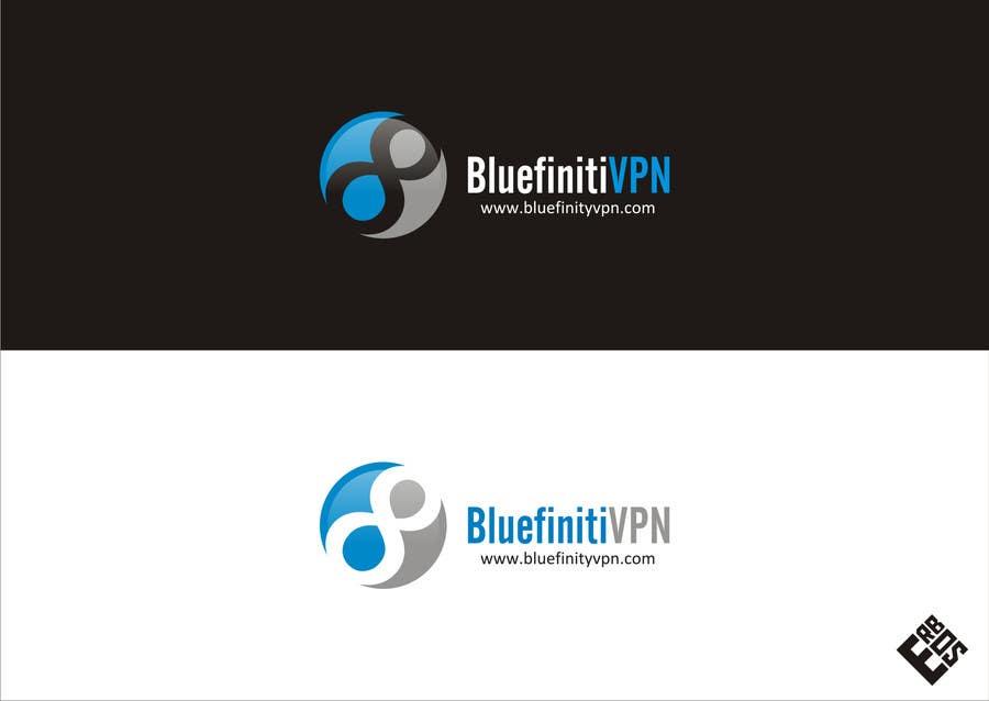 #104 for Design a Logo for BluefinitiVPN by nirvannafamily