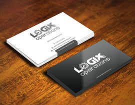 #30 for Design a sleek business card for Logix Operations by gohardecent