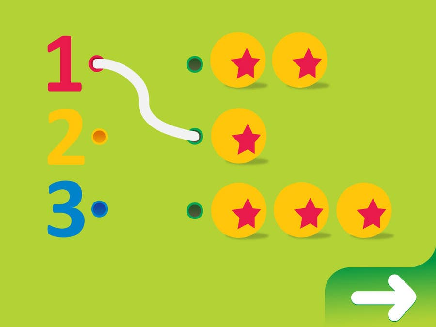 #27 for Design of a User Interface for a Kids Educational Game by MrHankey