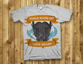 DANSGUN tarafından Design World Beard Day Themed T-Shirt için no 30