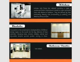 Shrey0017 tarafından Design a Flyer for Kitchen for Unique Cucine için no 4