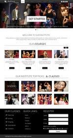 dimplesharma28ma tarafından Design a Website Mockup for an online institute için no 15
