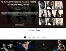 harisramzan11 tarafından Design a Website Mockup for an online institute için no 8