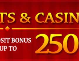 #2 untuk Design a Banner for Casino & Sportbook Bonus oleh designzforworld