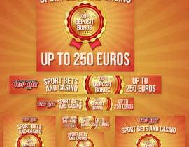 #3 untuk Design a Banner for Casino & Sportbook Bonus oleh gfxalex12