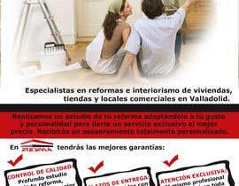 #4 untuk Diseño de flyer para empresa de reformas tamaño A5 oleh fantis77